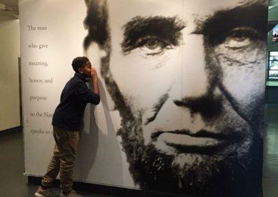 Lincoln Memorial visit