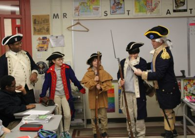 George Washington visit