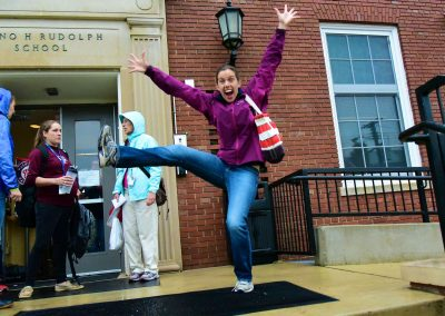 Ms. C-K ready for Field Trip!