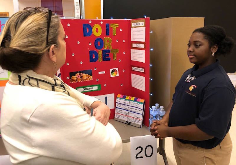 Scientists on Display